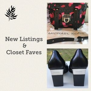 NEW LISTINGS AND CLOSET FAVORITES